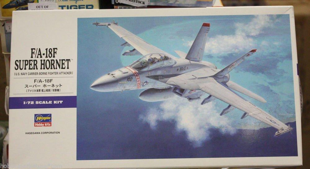 1/72 F/A-18F SUPER HORNET HASEGAWA NEW