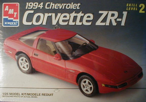 1/25 1994 CHEVROLET CORVETTE ZR-1 AMT Ertl NEW