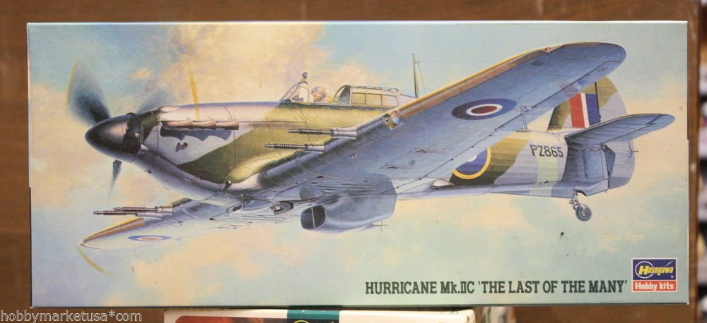 1/72 HURRICANE MK. IIC THE LAST OF THE MANY HASEGAWA NEW