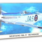 1/72 MUSTANG MK. IV HUNSDON HASEGAWA NEW