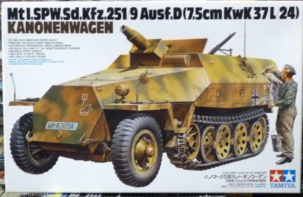 1/35 German SdKfz 251/9 Ausf D TAMIYA NEW