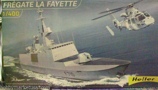 1/400 FRIGATE FREGATE LA FAYETTE FRANCE HELLER