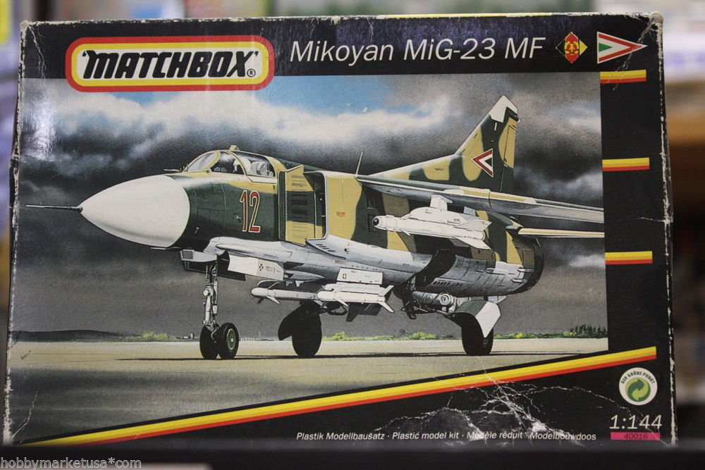 1/144 MiG-23 MF GDR RUSSIA MATCHBOX NEW
