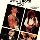 Queen We Will Rock You VHS