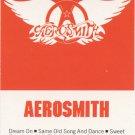 Aerosmith Greatest Hits Cassette