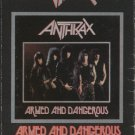 Anthrax Armed and Dangerous Cassette