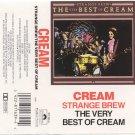 Cream Strange Brew-The Very Best of Cream Cassette