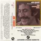 Jim Croce Photographs and Memories His Greatest Hits Cassette