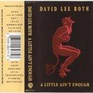 David Lee Roth A Little Ain't Enough Cassette
