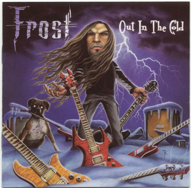 Jack Frost (Seven Witches, Savatage) Out in the Cold CD