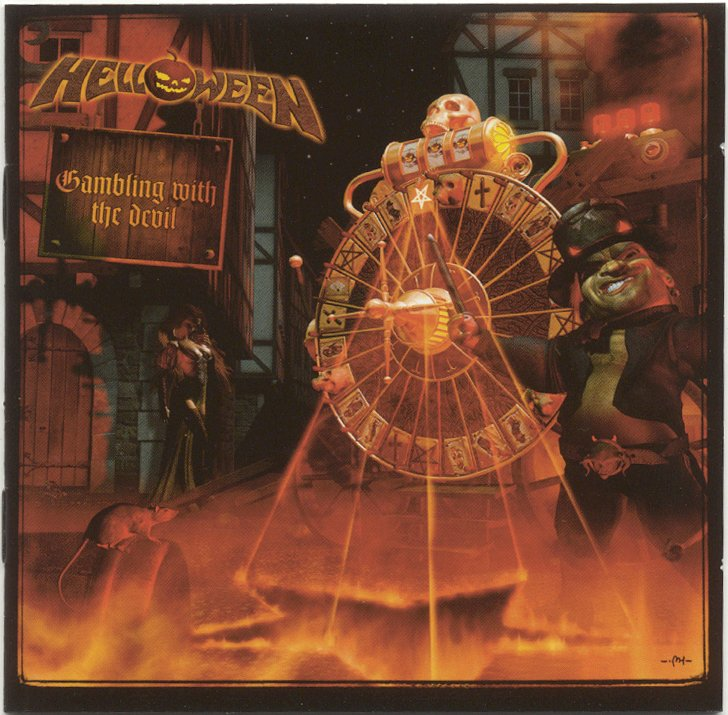 Helloween Gambling with the Devil 2 CD