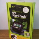 Bracketron Universal GPS Nav-Pack Weighted Dash Mount & Carrying Case (UFM-300-BX) *NIB*