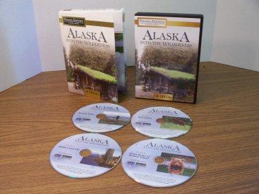 Alaska Into The Wilderness Premium Edition 4-DVD Set *USED*