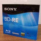 Sony BD-RE Blu-Ray Rewritable Disc (BNE25RH) 25GB 1-2x Full HD 1080 *NEW*