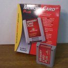 Performance Memory Card Plus For Nintendo 64 4x More Memory *USED*