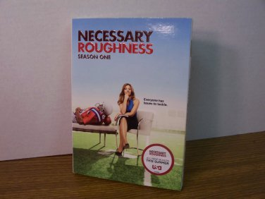 Necessary Roughness Season 1 3-Disc DVD Boxset *NIB*