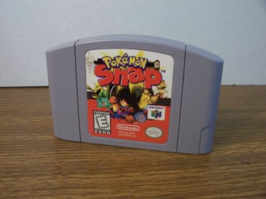 N64 Exclusive Pokemon Snap *USED*