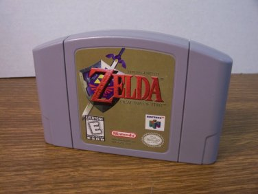 N64 Exclusive The Legend of Zelda: Ocarina of Time *USED*