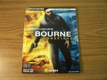 The Bourne Conspiracy Strategy Guide Xbox 360 & Playstation 3 *NEW*