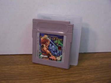 NGB Wizards and Warriors X Fortress of Fear Cartridge and Case *USED*