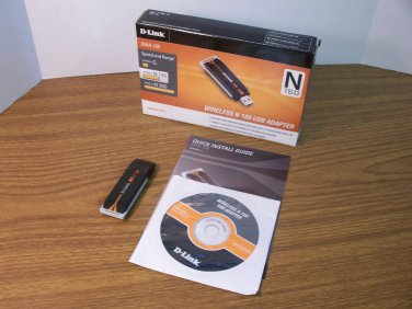D-Link Wireless-N 150 USB Adapter (DWA-125) *USED*