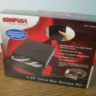 "CompUSA 5.25"" Drive Bay Storage Box (CDB-5035) *NIB*"