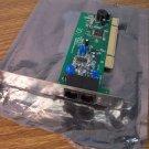 P&Q PM560MS-U 56kbps Telephone Modem PCI Adapter (QYIM500BPM560MS) *USED*