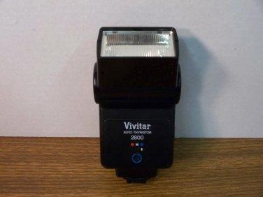 Vivitar Auto Thyristor 2800 Camera Flash Unit *USED*