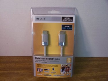 Belkin 12FT. High Speed HDMI Cable 24k Gold Connectors (AV10032-12WH-TG) *NEW*