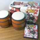 GCN Donkey Konga 2 Game w/DK Bongos (DOLRGY2E) *USED*