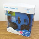 Binatone Business Starter Kit Black Wireless Stereo Headset (TALK-5193) *NIB*