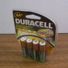 Duracell 4x- AA Rechargeable Pre-Charged 2000mAh CAT#DX1500 *NEW*