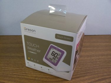 Oregon Scientific Touch Screen Touch Weather + Humidity (SL102) *NIB*