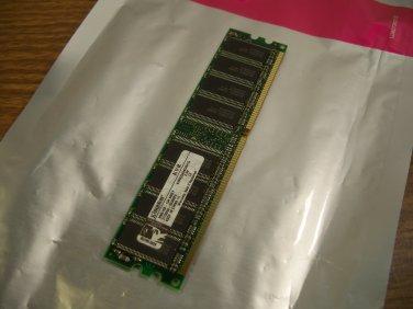 Kingston 1GB RAM DDR 333Mhz PC2700 Non-ECC DIMM Memory Module (KVR333X64C25/1G) *USED*