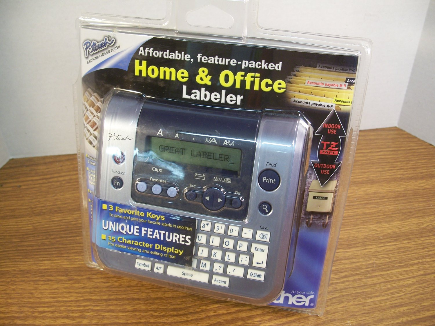 Brother Home & Office Electronic Labeler (PT-1280) *NEW*