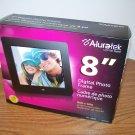 """Aluratek 8"""" Black Digital Photo Frame 800 X 600 PC MAC (ADPF08SF) *NIB*"""