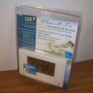 LUX Smart Temp LCD Touchscreen 7 Day Programmable Thermostat (TX9000TS) *NEW*