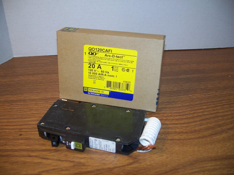 Find Square D Qo 70 Amp Double Pole Circuit Breaker Model Shop Qo120gficp 20amp 1pole Gfci Qo120cafi 44526 Cross2581 Cno1ocn1 Nlsmlt105l F5u220 Mh130 Arc Fault Afci 120volt