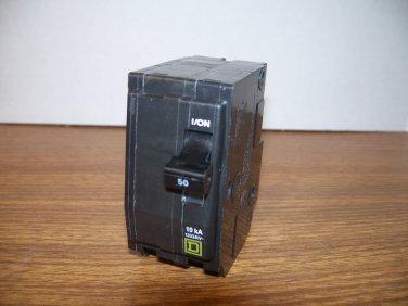 Square D QO Circuit Breaker (QO250) 50Amp 240Volt 2Pole 10kA *NOB*
