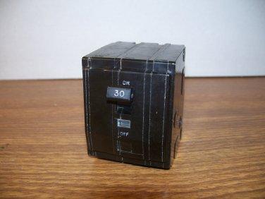 Square D QO Circuit Breaker (QO330) 30Amp 240Volt 3Pole 10kA OLD *USED*