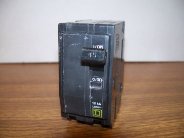 Square D QO Circuit Breaker (QO245) 45Amp 240Volt 2Pole 10kA *USED*