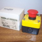 Telemecanique Red Pushbutton Turn to Release Control Station (XAL J174) *NIB*