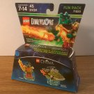 Lego Dimensions Fun Pack Legends of Chima Cragger (71223) *NIB*