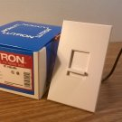 Lutron Nova T White Incandescent Single Pole Slide Dimmer Switch (NT-1000-WH) 120Volt *NIB*