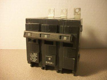 Siemens BL Circuit Breaker (B320) 20Amp 240Volt 3Pole 10kA *USED*