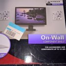 Sanus Visionmount On-Wall Component Shelf for up to 15Lbs. (VMA401-B1) *NIB*