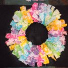 "Bright Rag 12"" Wreath"