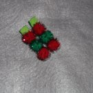 Red, Green, Red Caterpillar Clip