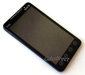 2V6A Narrow Flex Sprint HTC EVO 4G LCD Touch Screen Complete Assembly Module OEM