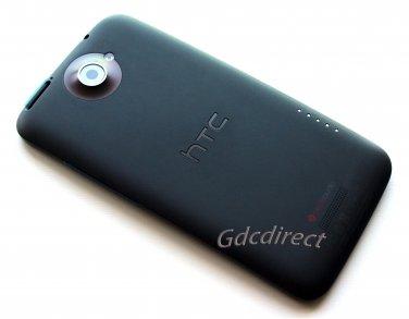 Genuine OEM HTC One X Housing Battery Door Back Cover Camera Lens G23 S720e Black